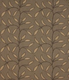 This beautiful linen/viscose material has been embroidered with a trellis of leaves. Looks stunning made up as curtains or blinds especially with a cotton interlining (which can be found in our lining section). Buy online now or visit one of our fabric shops in the Cotswolds.