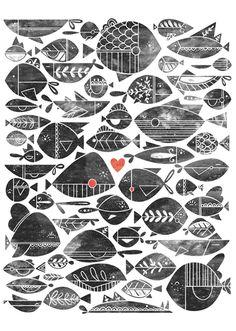 septagonstudios:  Livy LongON TUMBLR All the Fish in the Sea