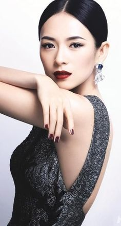 Zhang Ziyi, one of the most beautiful actresses.