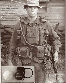 The equipment of Vietnam War MACV SOG