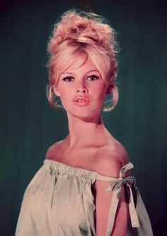 she's a favorite...Brigitte Bardot. looks good even in proverbial bin bag!!!1