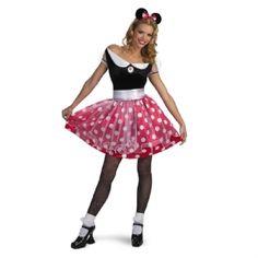 Minnie Mouse Ladies Costume