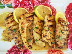 Lemon Honey Dijon Grilled Chicken