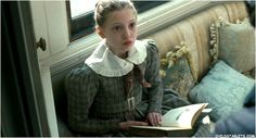 """2011 - Young Jane Eyre (Amelia Clarkson). Gives a whole new meaning to """"Get Caught Reading."""""""