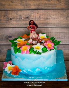 Moana by Sheila Laura Gallo Cakes Cake Decorating Daily