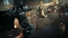 Batman Vs Thugs From Arkham Knight