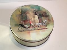 Vintage Sewing Tins Christmas Tins Candy by TheGypsyChixCompany, $21.00