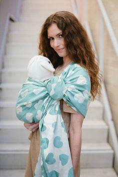 Tula Love Wrap Conversion Ring Sling - Creme de Menthe