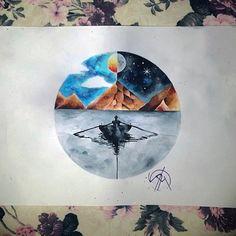 Drop Watercolor Customwork
