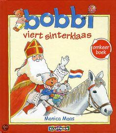 Dubbel pret met het Bobbi omkeerboek: Bobbi viert sinterklaas & Bobbi viert kerst