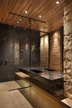 Super Creative Man Cave Bathroom 2018 - Marie Kirton- - Super Creative Man Cave Bathroom 2018 If you are confused with the bathroom design in your men cave and thinking about what will you do, you can adopt some references here. Designing man c. Modern Bathrooms Interior, Modern Bathroom Design, Bath Design, Bathroom Interior Design, Bathroom Designs, Bad Inspiration, Bathroom Inspiration, Man Cave Bathroom, Small Bathroom