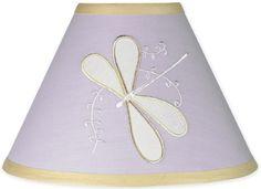 Sweet Jojo Designs Purple Dragonfly Dreams Lamp Shade #tinytotties #kidsroomdecor