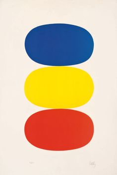 The rest is nonsense. He was one of the funniest men in the world. I sold him an Ellsworth Kelly. He& never seen an Ellsworth Kelly before. Ellsworth Kelly, Hard Edge Painting, Painting Abstract, Painting Art, Motif Vintage, Colour Field, Wassily Kandinsky, Art Design, Art Plastique