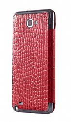 Anymode Leather Flip Case Cover for Samsung Galaxy Note SGH-I717 (Red)  $29.99
