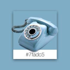 Color Palette Inspiration | Vintage Blue | #7fadc5