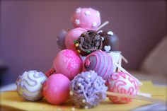 girly cute cakepops and cakes - Google Search