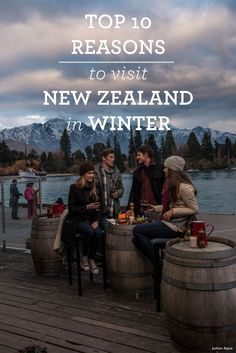 Top 10 Reasons to visit New Zealand in Winter.Thinking about visiting New Zealand in winter? Here are 10 reasons why New Zealand's a great winter destination. Visit New Zealand, New Zealand Travel, Oh The Places You'll Go, Places To Travel, Places To Visit, Auckland, New Zealand Winter, New Zealand Snow, New Zealand Adventure