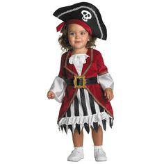 Infant Pirate Princess Costume