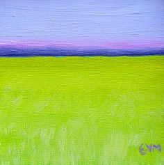 Minimalist #2 by Giselle Vidal McMenamin Oil ~ 5 x 5