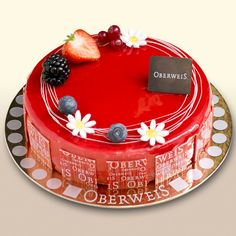Sweet tooth on pinterest patisserie plated desserts and for Raspberry miroir