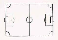 Coloriage Terrain De Foot.33 Meilleures Images Du Tableau Foot Crafts Handicraft Et Soccer