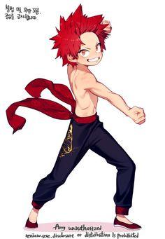 My Hero Academia - Kirishima Eijirou Boku No Hero Academia, Kirishima My Hero Academia, My Hero Academia Memes, Hero Academia Characters, My Hero Academia Manga, Manga Anime, Comic Manga, Kirishima Eijirou, Chibi