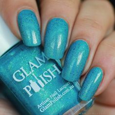 Glam Polish - Paradise Swatch, Paradise, Artisan, Nail Polish, Nails, Pretty, Autumn, Colour, Finger Nails