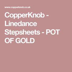CopperKnob - Linedance Stepsheets - POT OF GOLD