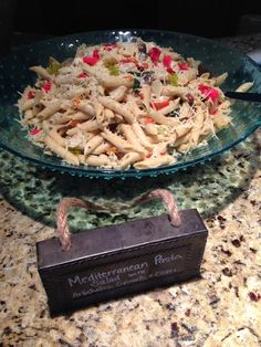 Mediterranean Pasta Salad with Artichokes, Spinach & Olives  Kentucky Derby Festival Wine Competition The Ice House  #kentuckyderbyfestival #crushediceevents #winetasting #icehouse