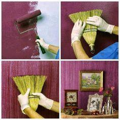 10 Ideas Geniales Para Pintar y Hacer Texturas en las Paredes