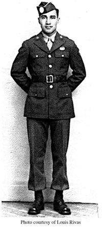 Cpl Johnnie M Rivas comanche 1944