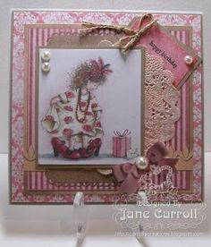 Jane Carroll for Crafter's Companion: Angelica and Friends CD-ROM