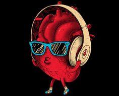 heartBEAT t-shirt design by Dzeri29
