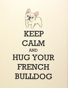 French bulldog love.