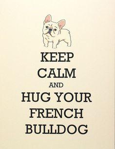 French bulldog love.