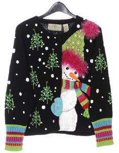 This is gonna be my sweater for the party!! @Kelly Compostella