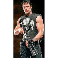 #Thomas_Jane_Vest #Tactical_Vest #Frank_Castle_Vest #Leather_Vest #Black_Vest #Skull_Vest #Punisher_Vest