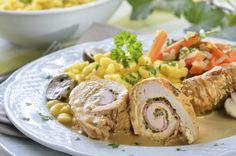 Rollo de pollo (con Chayote)