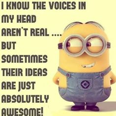 61 Ideas For Funny Pics Lol Humor Minions Quotes Funny Shit, The Funny, Funny Memes, Hilarious, Funny Stuff, Funny Work, Stupid Stuff, Minion Jokes, Minions Quotes
