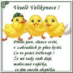 Veselé Velikonoce obrázky, citáty a animace pro Facebook - ObrazkyAnimace.cz Happy Easter, Winnie The Pooh, Projects To Try, Food And Drink, Facebook, Petra, Origami, Google, Brunettes