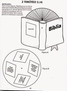 EBD ensinando com amor: Atividades Dia da Bíblia .