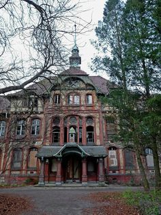 The remains of the abandoned Beelitz Sanatorium is a combination of grand architecture and eerie medical artifacts.