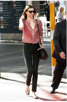 blouse + jeans <3