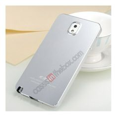 Ultra-thin Deluxe All Metal Aluminum Case Cover For Samsung Galaxy Note 3 N9000 - Silver US$25.99