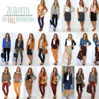 Here are 20 fall outfits to mentally prepare you for fall, and to re-create once temperatures drop!