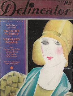 Cover by Helen Dryden, 3 / 1 9 2 9, Delineator magazine (1873-1937).
