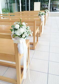 #VressetRose #Wedding #white #chapel #Flower #Bridal #結婚準備#ブレスエットロゼ #ウェディング…