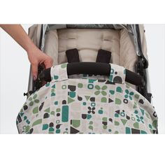 StrollerBlankie: SO Fabulous~!!! I love this blanket! no more strolling over your favorite blankie! stays in place easier attaches to bumper bar of any stroller!