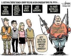 Time is on the side of appropriate gun laws.