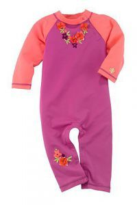 e43eeea1fb Coolibar UPF Baby Beach One Piece Swimsuit Here is the fun-in-the-sun outfit  that will protect your baby's entire body from harmful ultraviolet sunrays.